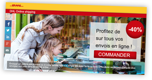 DHL s'ouvre au marketing comportemental avec ReachTheFirst